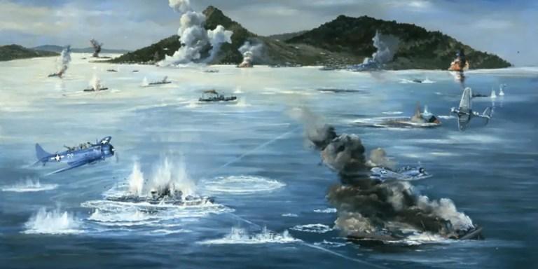 El ataque al Lago Truk, la venganza por Pearl Harbor