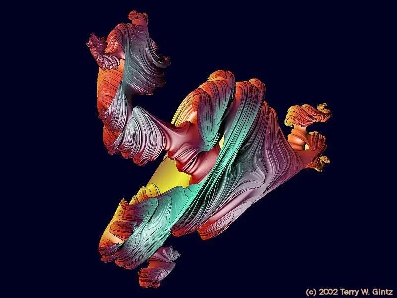 Fractales octoniones.