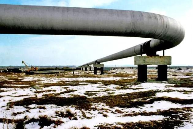 Fotografía de un gasoducto.