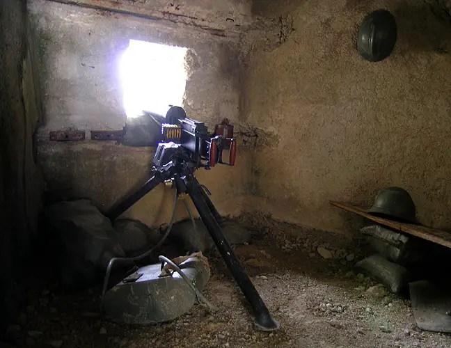 Fotografía desde el interior de Lagazuoi.