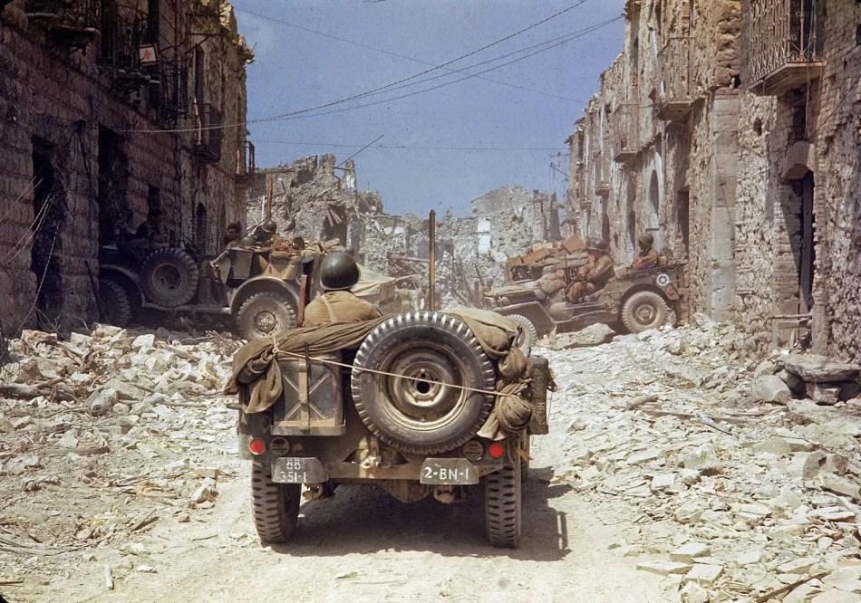 Destrucción de la segunda guerra.