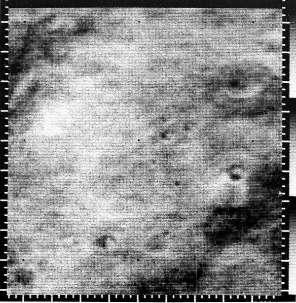 Primeras imágenes de Marte.