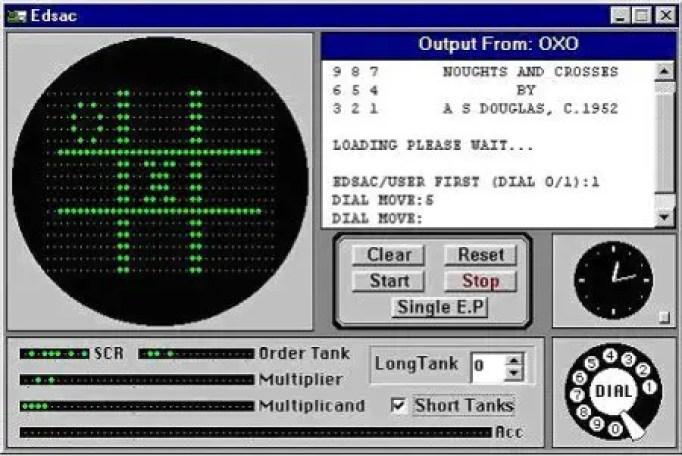 Captura de un simulador de EDSAC.