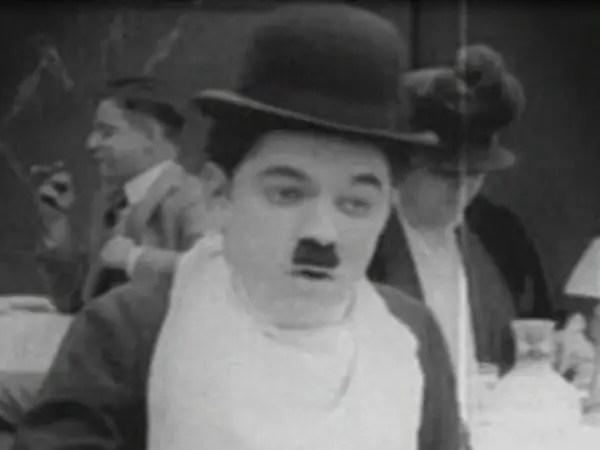 Fotografía de Charles Chaplin.