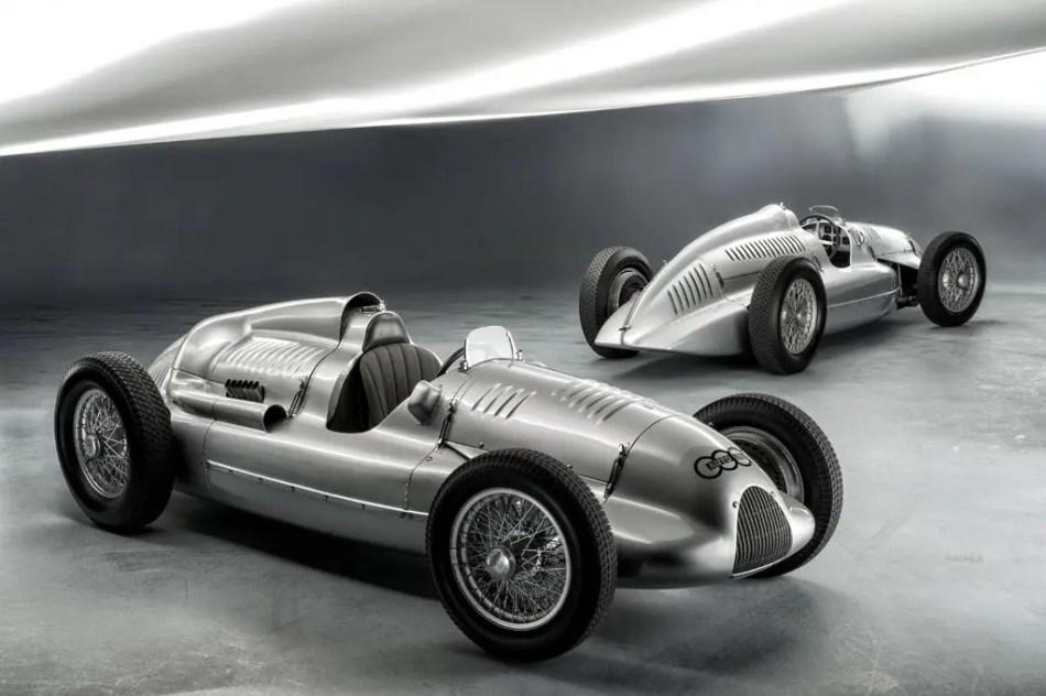 Fotografía del Porsche Neusilber.