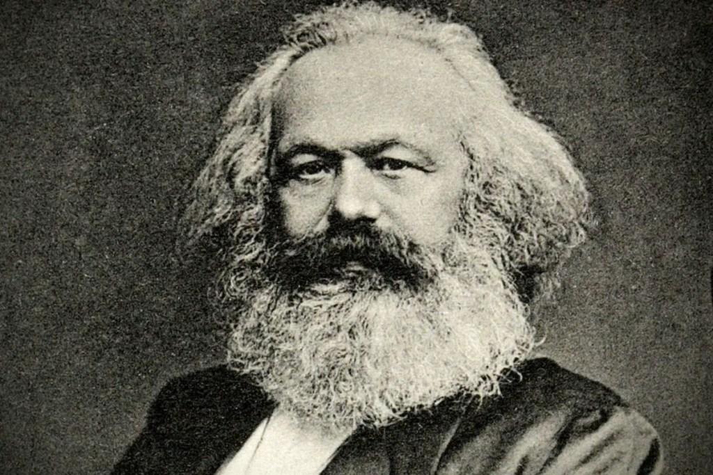 Fotografía de Karl Marx.