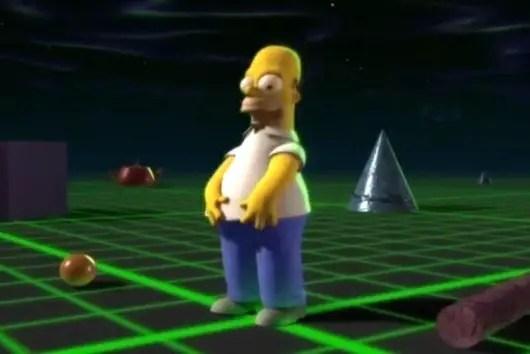 Captura de Los Simpsons.