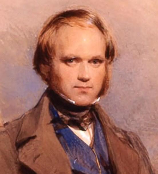 Pintura de CHarles Darwin.