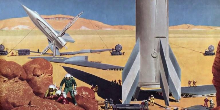 El Proyecto MARTE, cómo Wernher Von Braun planeó el viaje a Marte