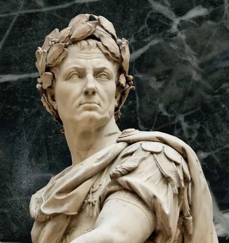 Detalle de Julio César.