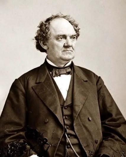Retrato de P.T. Barnum.