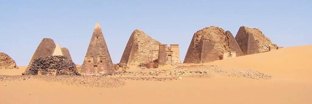 Piramidades de Sudán