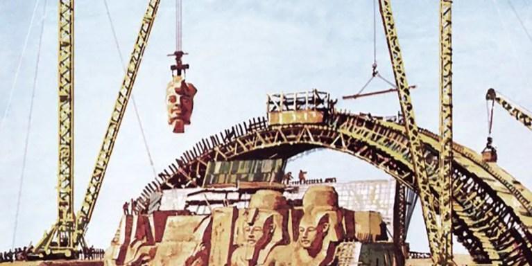 La mudanza de Abu Simbel, el templo egipcio que se mudó piedra a piedra