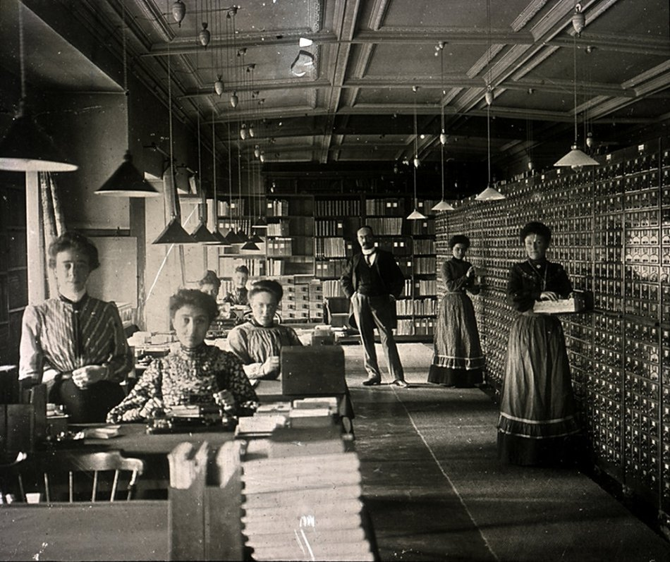 Archivistas mundaneum.