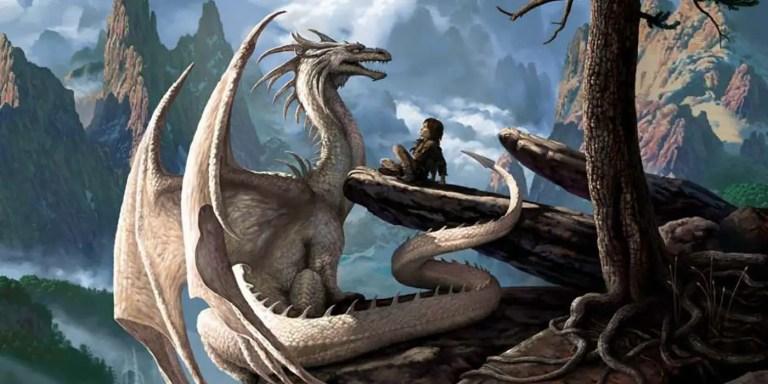 Los dragones del dibujante Ciruelo y otros seres mitológicos