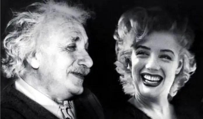 Albert Einstein y Marilyn Monroe, juntos intercambiaron una de las mejores réplicas históricas.