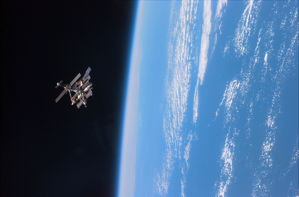 Estacion espacial MIR.