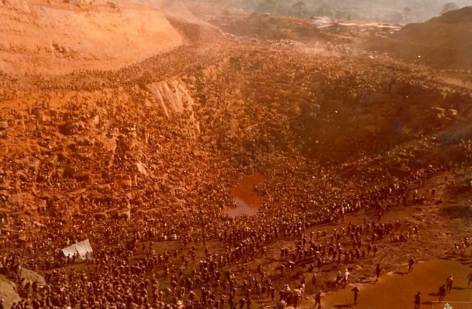 Fiebre del oro de 1983 en Brasil.
