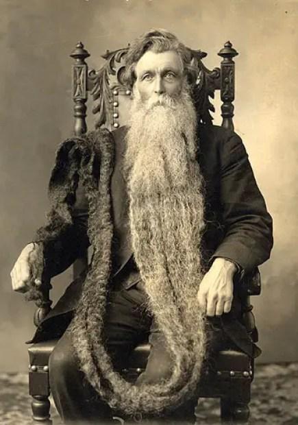 Retrato de Hans Nilsen Langseth.