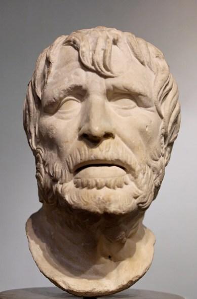 Busto de Hesíodo.
