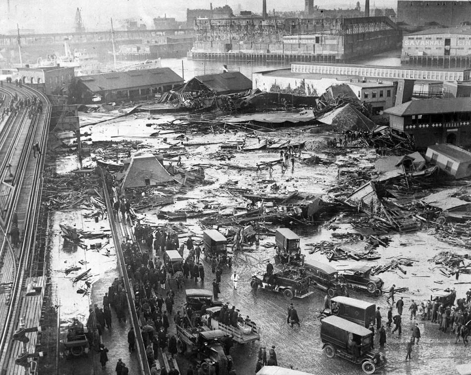 Inundacion de melaza, en Boston.