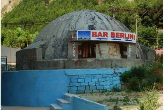 Los búnkers de Albania.