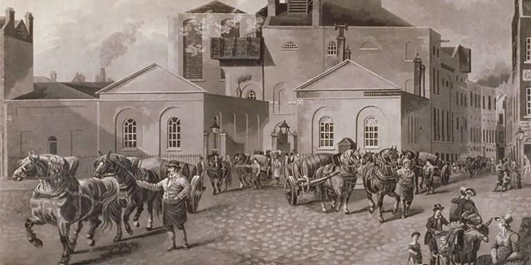 La gran inundación de cerveza de 1814 causada por la Meux Company