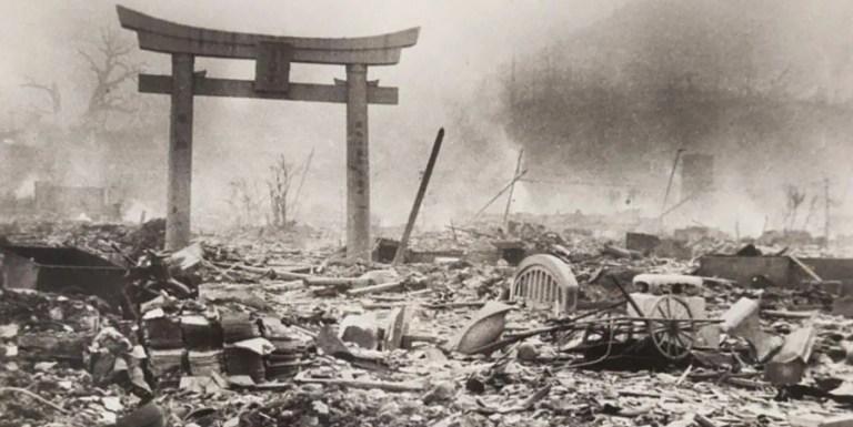 Nagasaki antes y después, la destrucción causada por la bomba nuclear