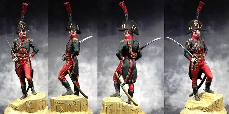 Oficial militar napoleónico.