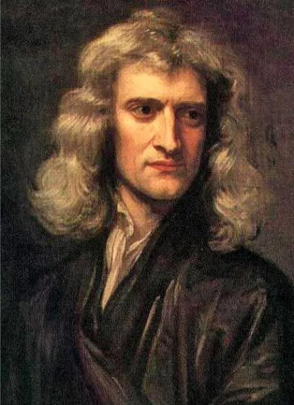 Retrato de Isaac Newton