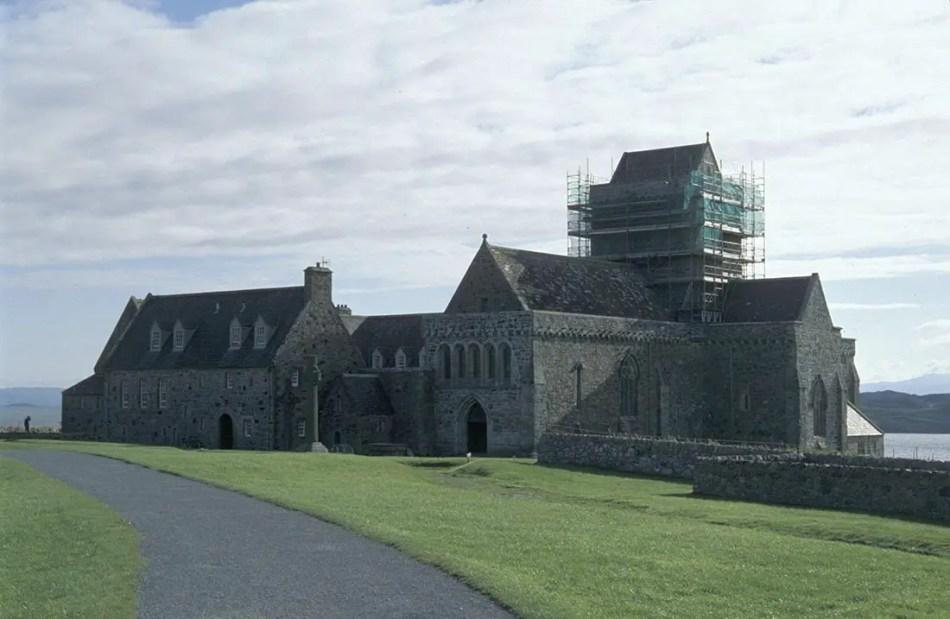 Fotografía de la abadía de Ilona