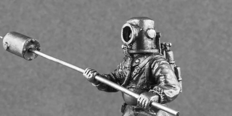 Los Fukuryu y los Kaiten, los buzos submarinos kamikazes del Japón