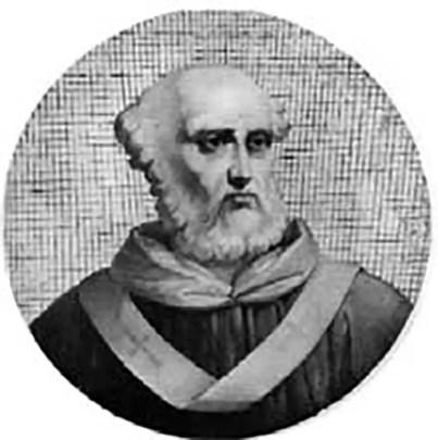 Retrato del papa Formoso.