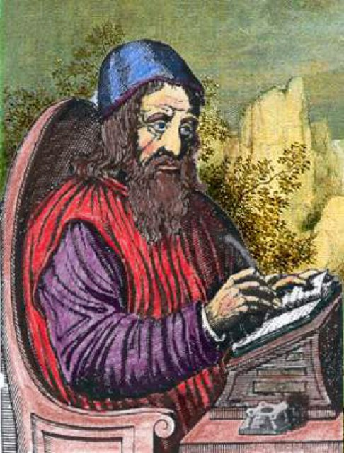 Ilustración de Johannes Trithemius.