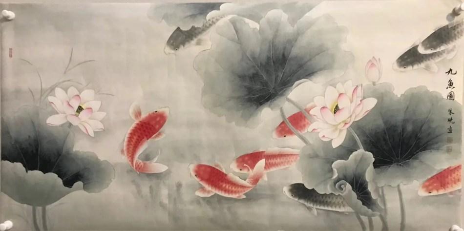 Pinturas gongbi.