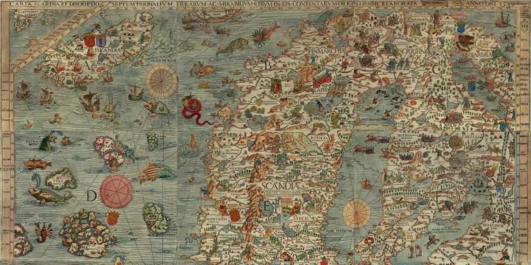Las tierras incógnitas, de Hiperbórea y Thule a la Atlántida y Mu