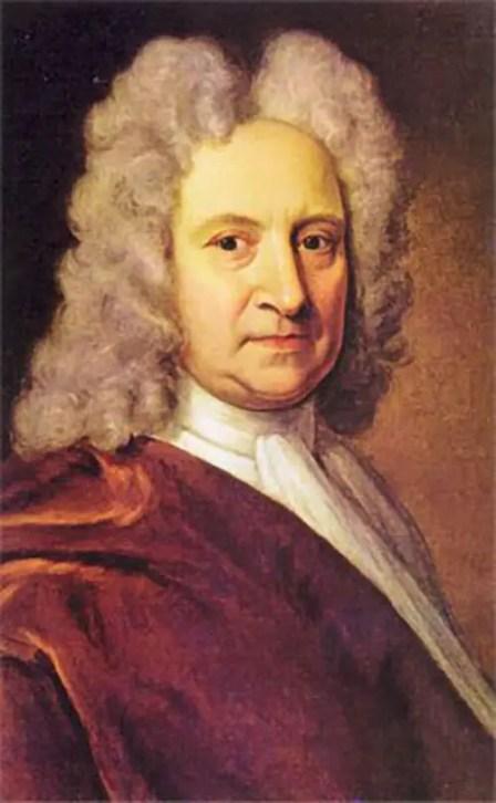 Pintura retrato de Guillaume Le Gentil, el hombre con más mala suerte.