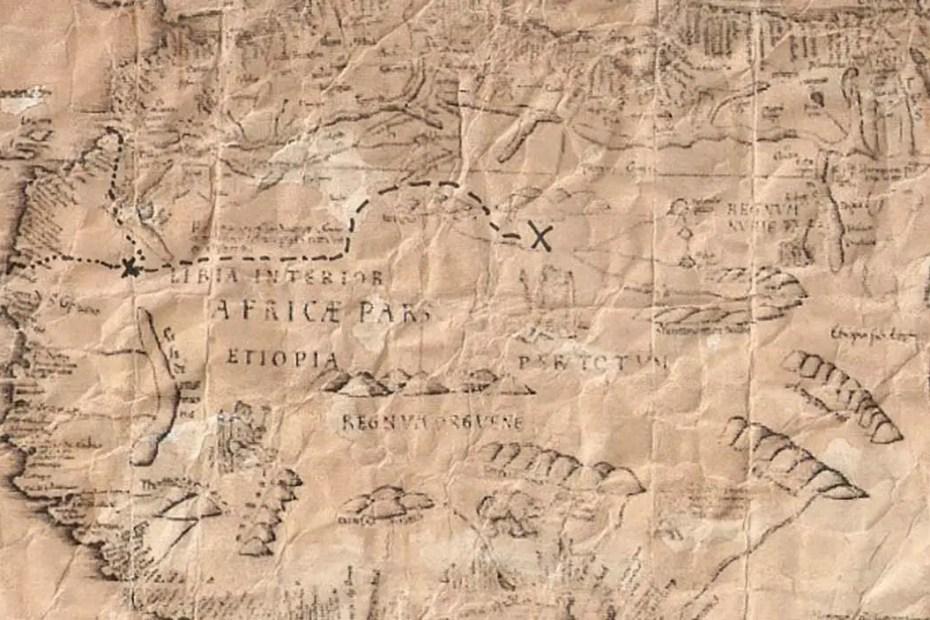 Mapa del tesoro.