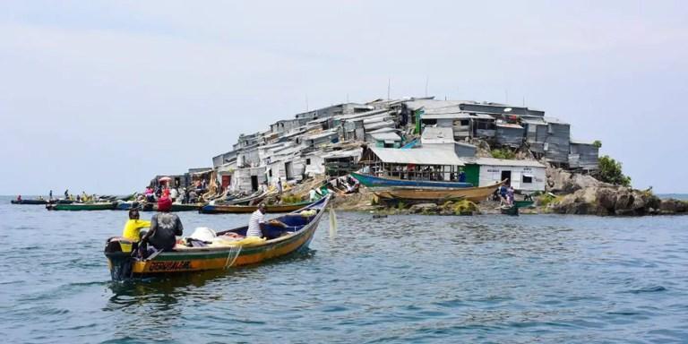 Migingo, la isla más superpoblada y contaminada del mundo