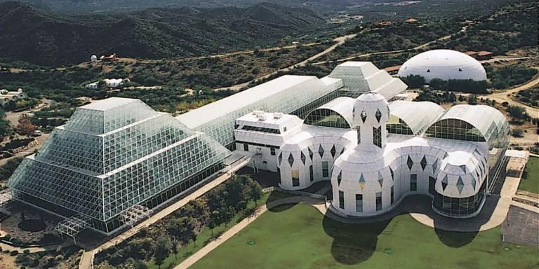 Biosphere 2, el ecosistema perfecto e idílico que terminó en fracaso