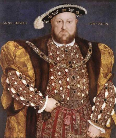 Retrato de Henry VIII, Enrique VIII en español.