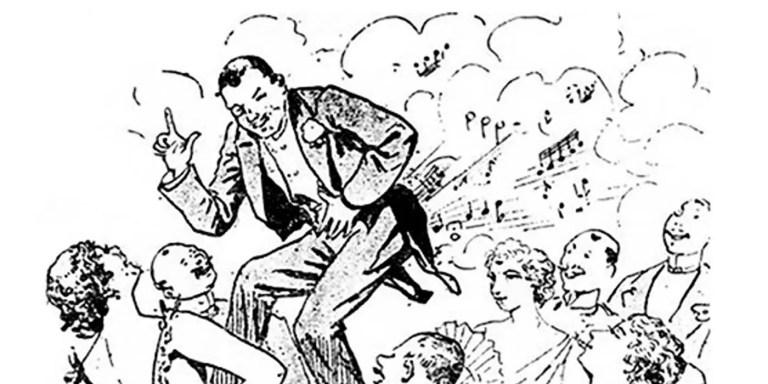 Le Pétomane, el artista de las flatulencias estrella del Moulin Rouge