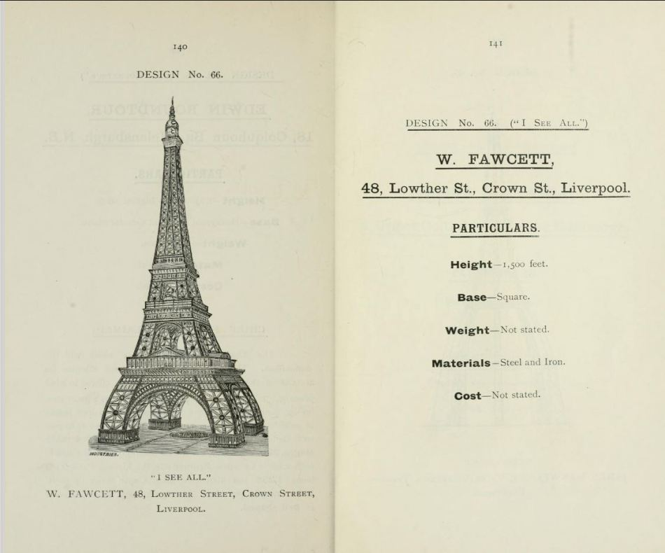 Propuesta de la torre de Wembley.