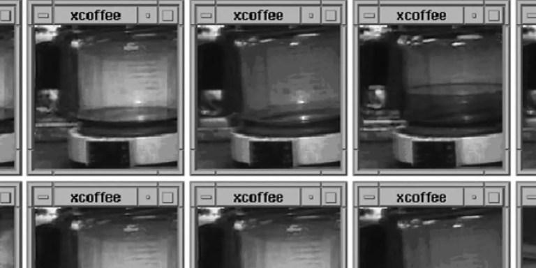 La cámara del café, la primera webcam y el primer stream en la Historia