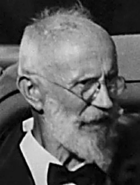 Retrato de Carl Von Cosel.