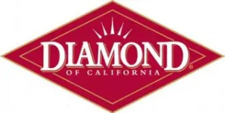 Logo de la compañía Diamond of California.
