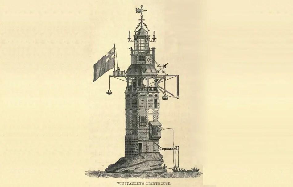 Diagrama del Faro de Winstanley.