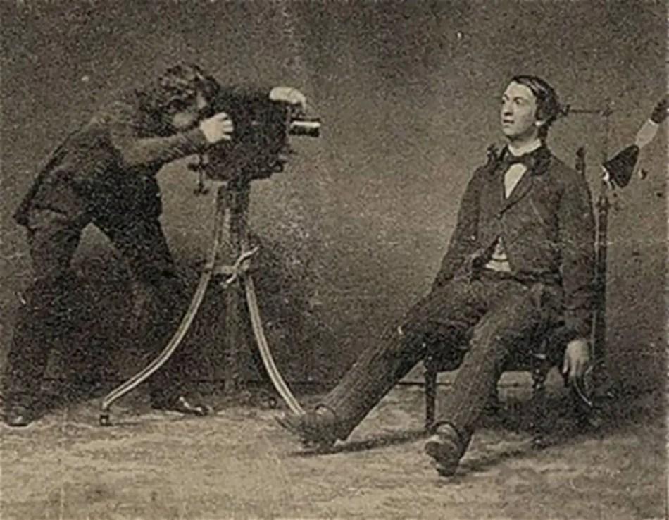 Un estudio fotográfico de necrografías.