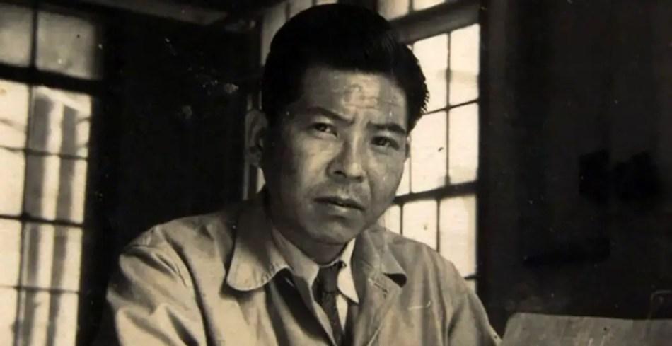 Tsutomu Tamaguchi de joven, uno de los Ocho afortunados.