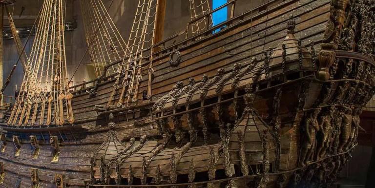 La Vasa, el navío a vela sueco perfectamente preservado tras hundirse